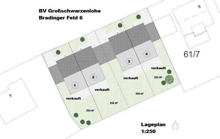 Lageplan Grossschwarzenlohe